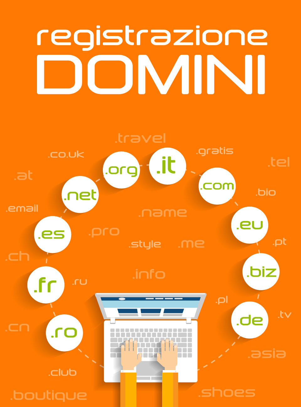 REGISTRAZIONE DOMINI INTERNET